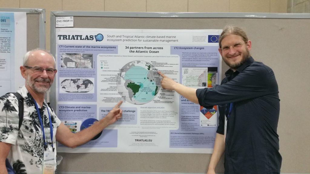 José Muelbert and Jörn Schmidt at OceanObs 19