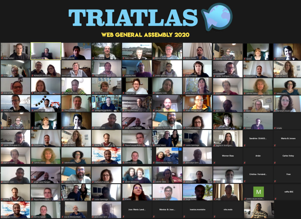 TRIATLAS web GA group photo 2020